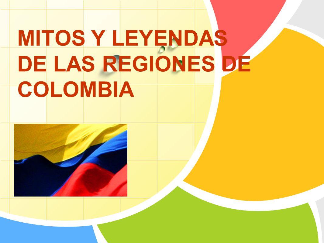L/O/G/O MITOS Y LEYENDAS DE LAS REGIONES DE COLOMBIA
