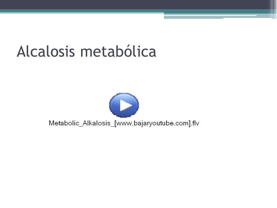 Alcalosis metabólica