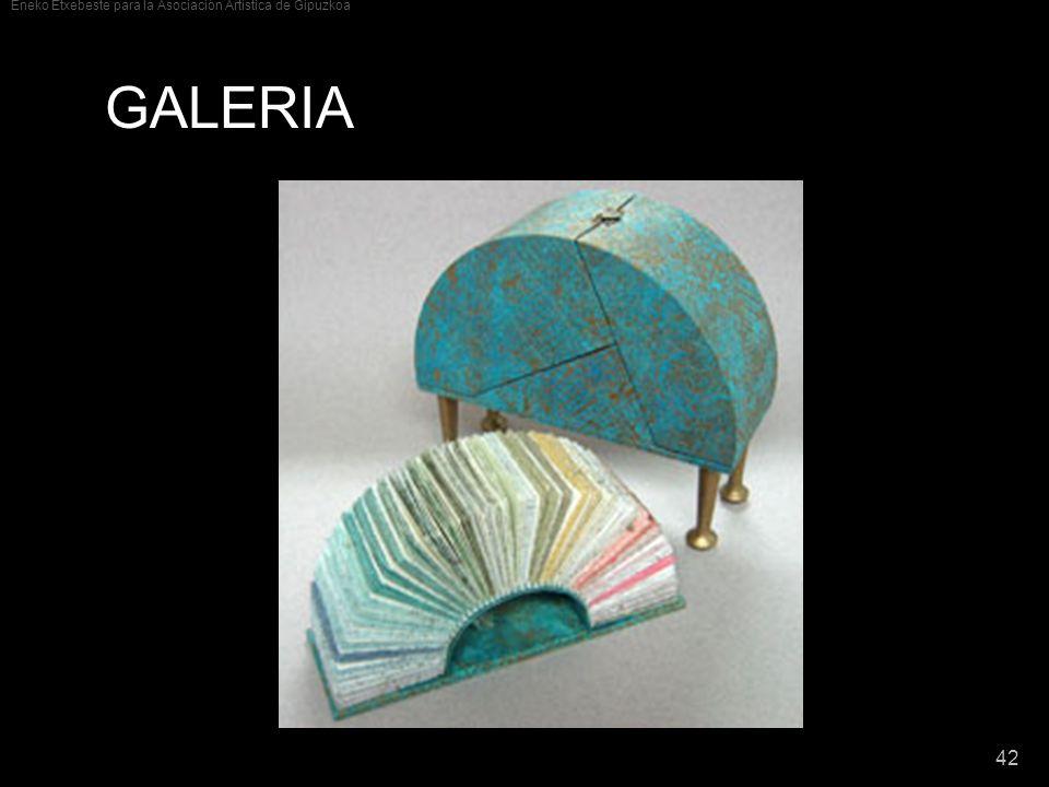 Eneko Etxebeste para la Asociación Artística de Gipuzkoa 42 GALERIA