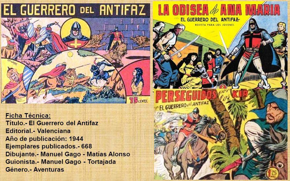 Las aventuras transcurren en la reconquista española. El Guerrero es criado creyéndose hijo de una cristiana y un musulmán (Alí-Khan), pero al morir s