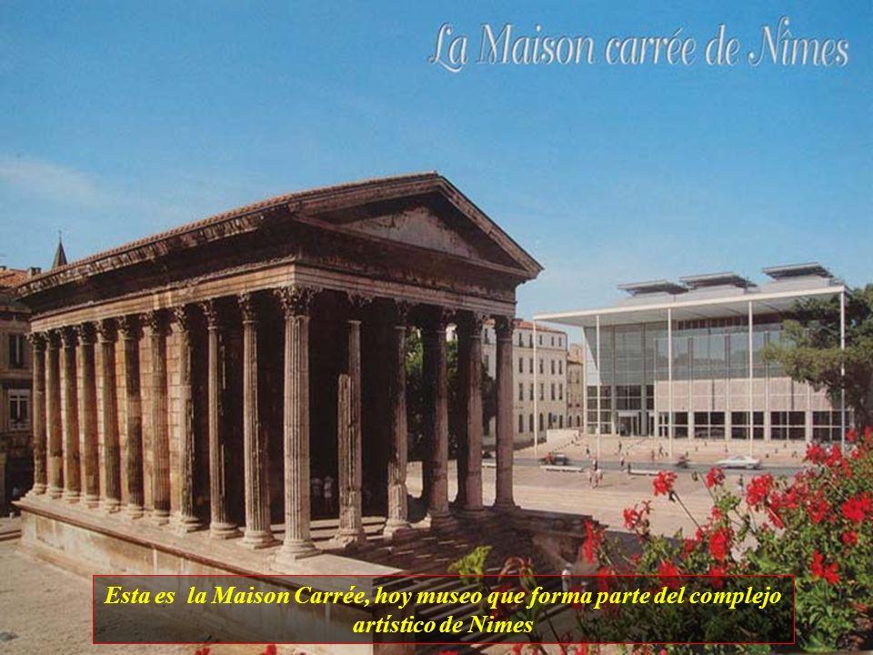 Nimes es una ciudad con aproximadamente 137 mil habitantes. Forma parte de la ruta del mundo antiguo y es conocida por sus antigüedades romanas, desta