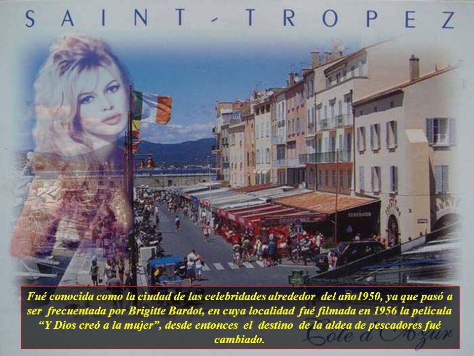 Saint-Tropez es una pequeña ciudad litoral, localizada en la región de la Costa Azul, situada en la punta de una península. Su población está en torno
