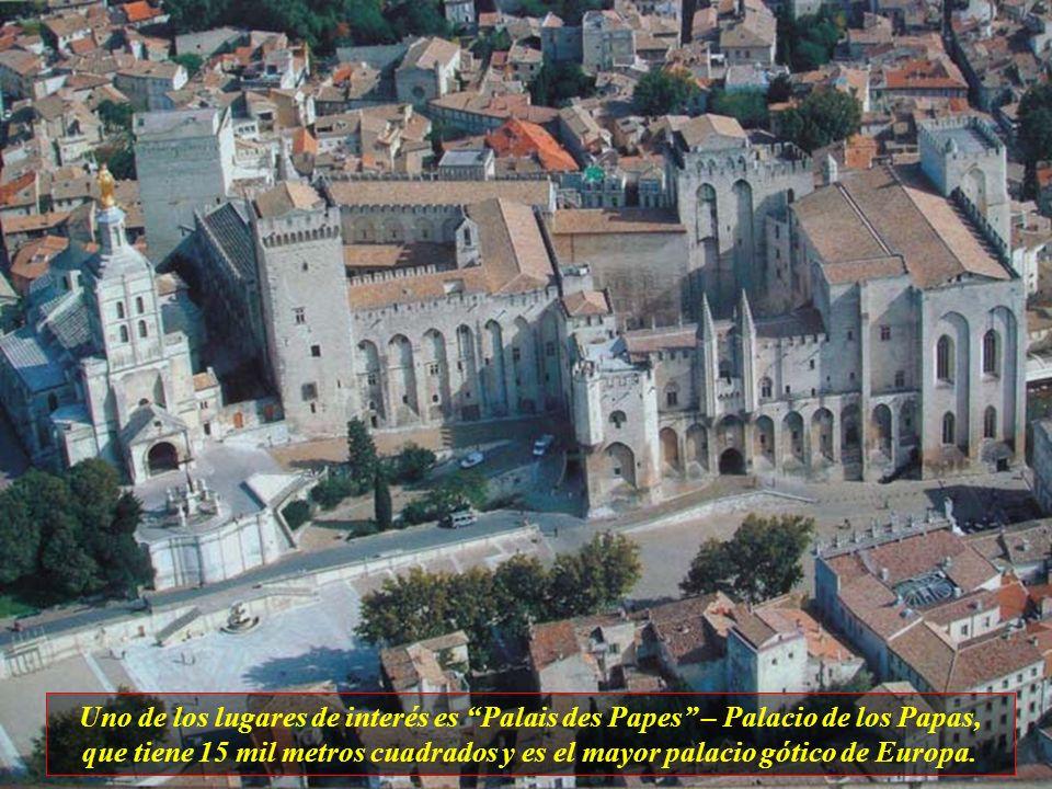 Avignon es una de las más fascinantes ciudades del Sur de Francia, está cercada por murallas y su arquitectura es de estilo medieval. La población tie
