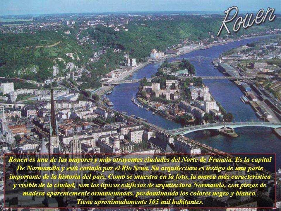 Rouen es una de las mayores y más atrayentes ciudades del Norte de Francia.