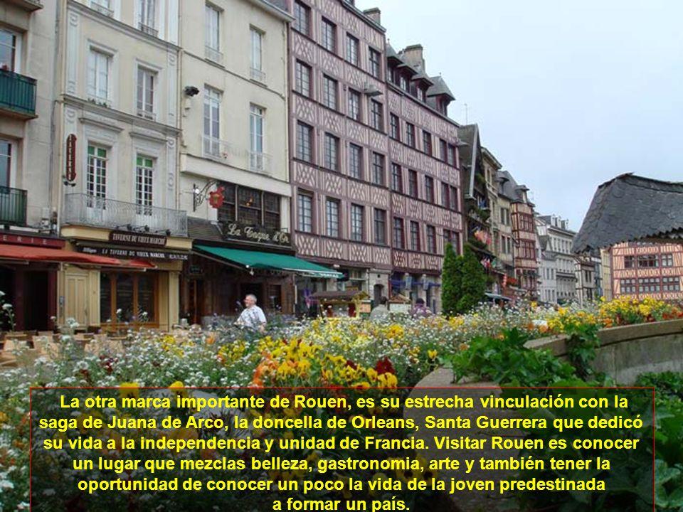 Rouen es una de las mayores y más atrayentes ciudades del Norte de Francia. Es la capital De Normandía y está cortada por el Río Sena. Su arquitectura