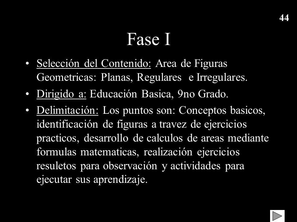 43 UNIVERSIDAD DE CARABOBO FACULTAD DE EDUCACION DPTO. DE MATEMATICA INTRODUCCION A LA COMPUTACION M.E. Madelen Piña y Lic. Estela Lagardera AREA DE F
