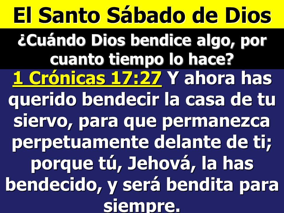 Y acabó Dios en el día séptimo la obra que hizo; y reposó el día séptimo de toda la obra que hizo. Y bendijo Dios al día séptimo, y lo santificó, porq