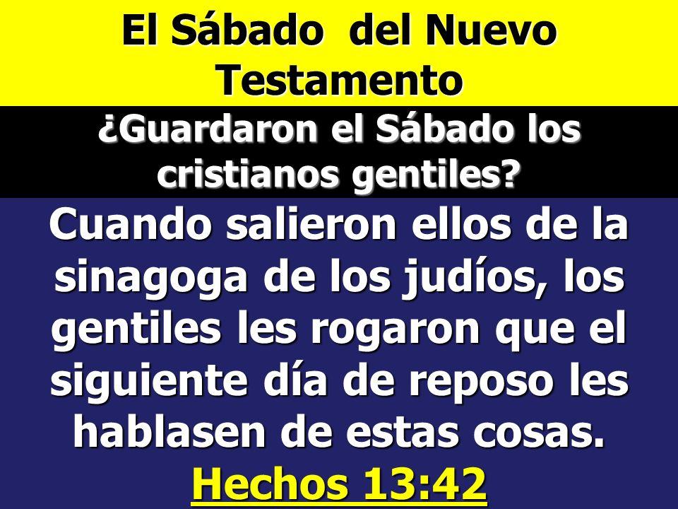 El Sábado del Nuevo Testamento 1 Pedro 2:21 Pues para esto fuisteis llamados; porque también Cristo padeció por nosotros, dejándonos ejemplo, para que