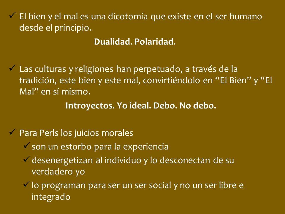 El bien y el mal es una dicotomía que existe en el ser humano desde el principio. Dualidad. Polaridad. Las culturas y religiones han perpetuado, a tra