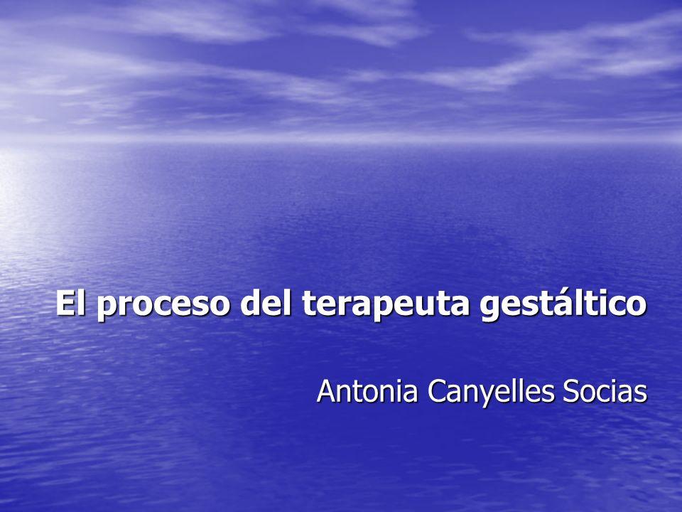 La gestión de la agresividad en la terapia Gestalt Mª Cristina Rodríguez Inyesto