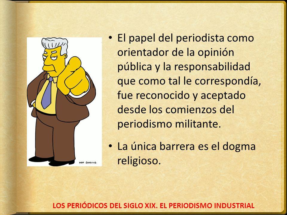 LOS PERIÓDICOS DEL SIGLO XIX.