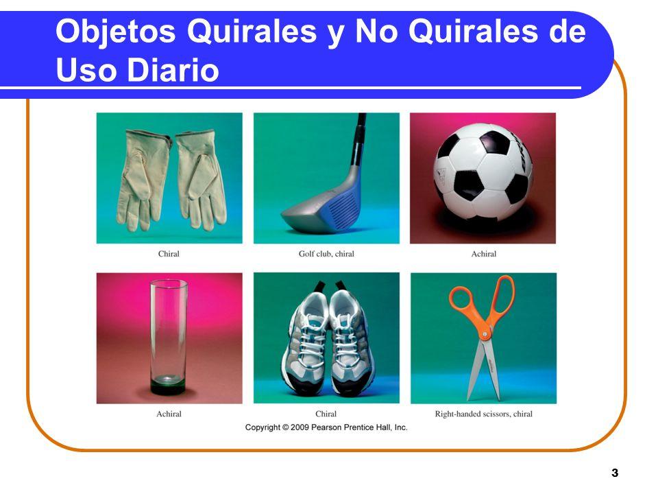 3 Objetos Quirales y No Quirales de Uso Diario