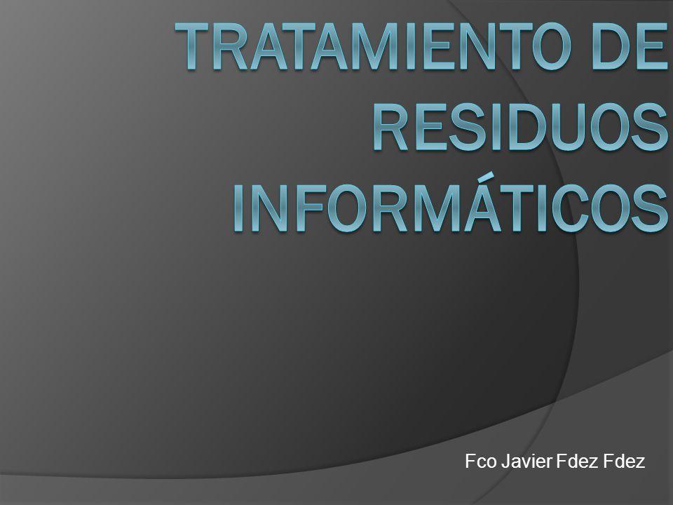Normativas sobre la gestión de residuos informáticos.