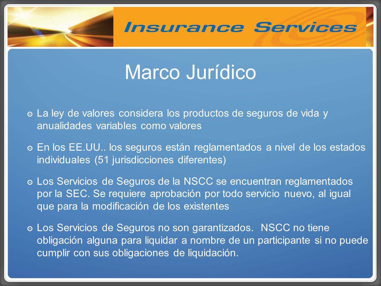 La ley de valores considera los productos de seguros de vida y anualidades variables como valores En los EE.UU..