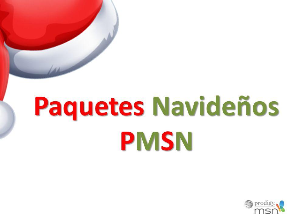 Paquetes Navideños PMSN