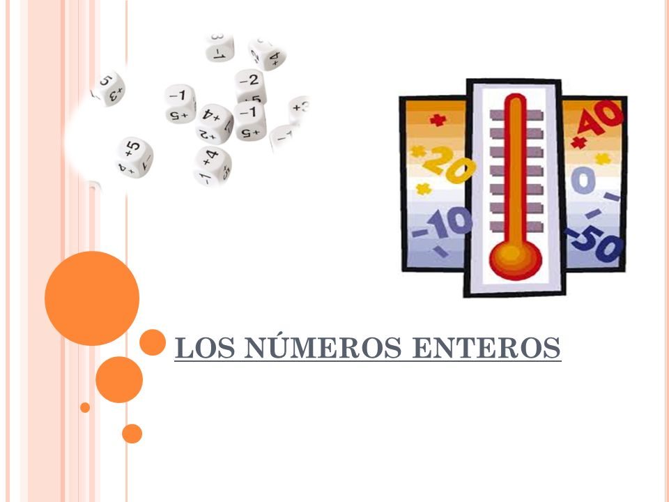 E L CONJUNTO DE LOS NÚMEROS ENTEROS El conjunto de los números enteros está formado por: Los naturales, que son los positivos----- +1,+2,+3,+4… El cero--------------------------------------------- 0 Los negativos------------------------------------ -1, -2, -3, -4… Los números enteros se representan en la recta numérica ordenados.