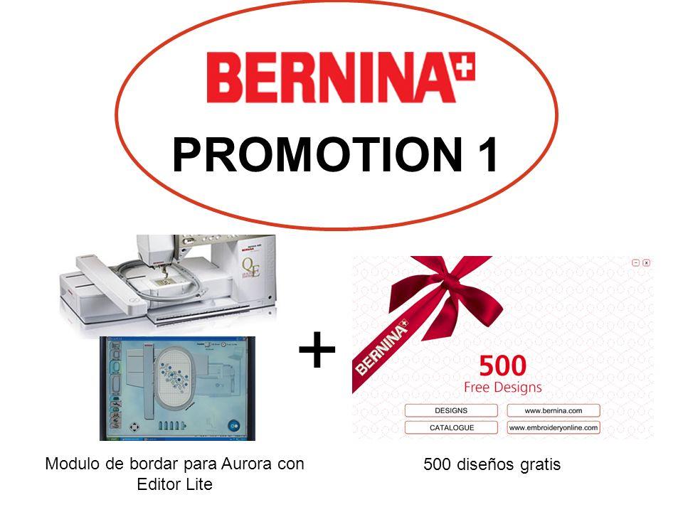 Modulo de bordar para Aurora con Editor Lite + 500 diseños gratis PROMOTION 1
