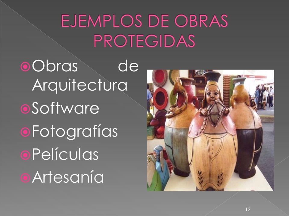 Obras de Arquitectura Software Fotografías Películas Artesanía 12