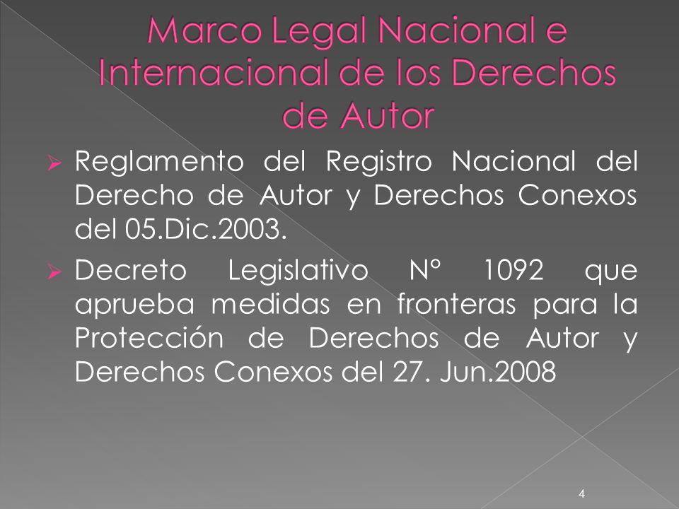 Los Derechos Morales del autor son los siguientes: Divulgación Paternidad Integridad Acceso Modificación o Variación Retiro de la Obra del Comercio 15