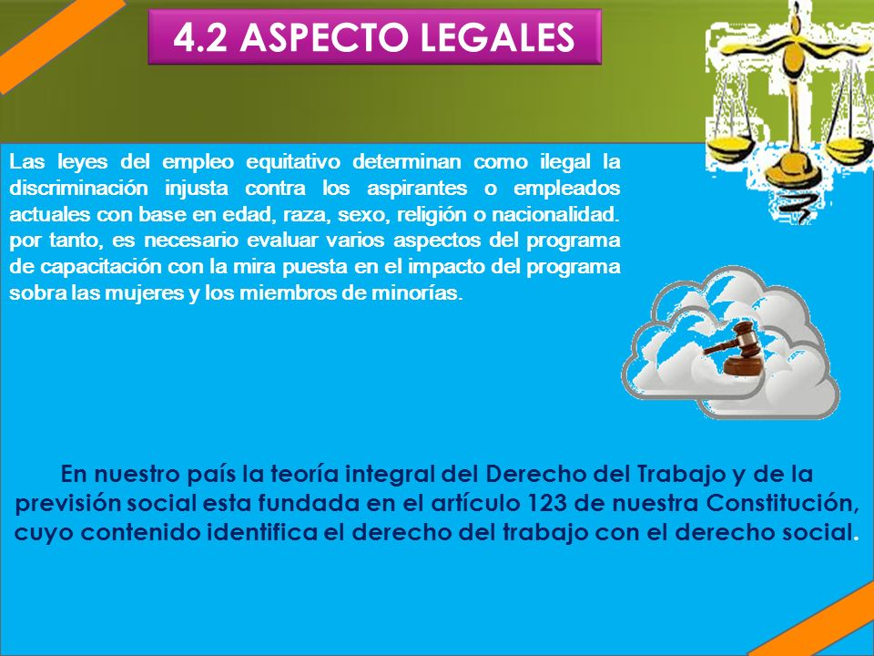 En nuestro país la teoría integral del Derecho del Trabajo y de la previsión social esta fundada en el artículo 123 de nuestra Constitución, cuyo cont