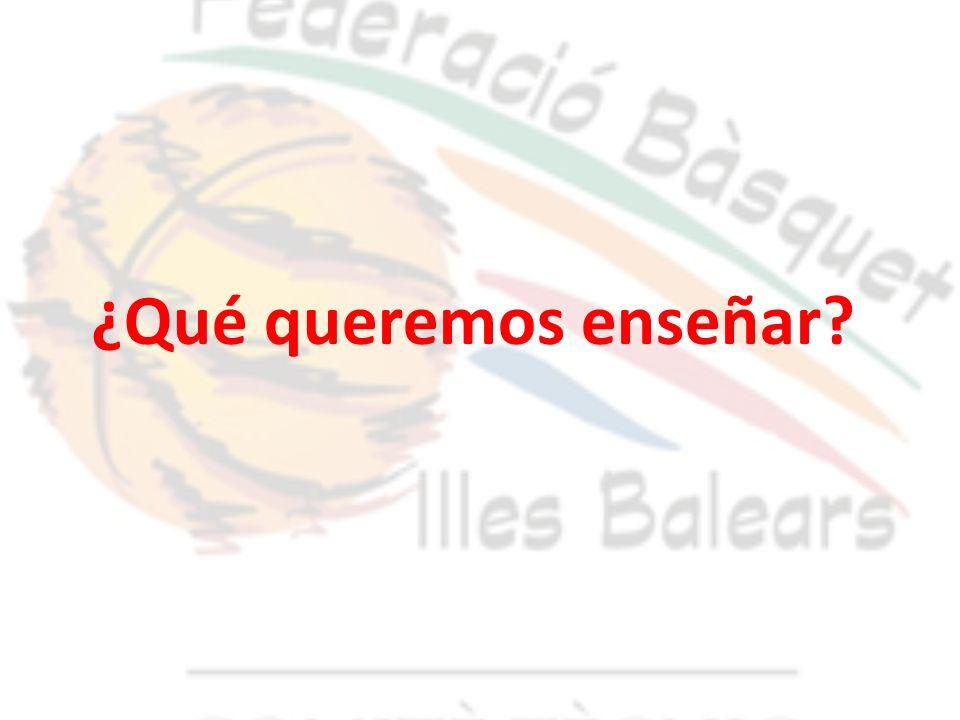 INTRODUCCIÓN DE CONCEPTOS DEPORTIVOS 6-8 AÑOS (ESCUELA)8-10 AÑOS ( PRE-MINI)10 -12… (MINI-INFANTIL) APRENDIZAJE DE LOS ELEMNTOS BÁSICOS TÉCNICOS: MANTENER LA PELOTA PROGRESAR CON LA PELOTA ORIENTARSE CON LA PELOTA EQUILIBRIO ESTÁTICO Y DINÁMICO INTRODUCCIÓN DE LOS PRINCIPIOS BÁSCIOS TÁCTICOS: ATAQUE: ORIENTARSE A LA CANASTA Y DECIDIR JUGAR LEJOS DE LA PELOTA JUGAR SEPARADOS DE LOS COMPAÑEROS DEFENSA: EMPAREJAMIENTO DEFENSIVO OPOSICIÓN DEFENSIVA RECUPERAR LA PELOTA TÁCTICA INDIVIDUAL Y COLECTIVA: INTENTAR 1X1 OCUPAR ESPACIOS TOMA DE DECISIÓN CONCEPTO: PELOTA-TU Y CANASTA.