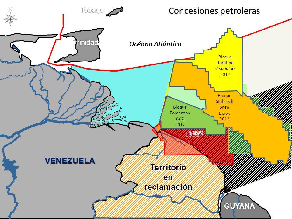 VENEZUELA GUYANA SURINAM GUAYANA FRANCESA BRASIL OCEÁNOATLÁNTICO TRINIDAD TOBAGO SAN VICENTE GRANADANBARBADOS © Nieves-Croes 2011 PCE BRASIL - FRANCIA 1981 GUYANA GUYANA GUYANA - SURINAM BARBADOS - TRINIDAD & TOBAGO GUYANA VENEZUELA Venezuela – Trinidad & Tobago