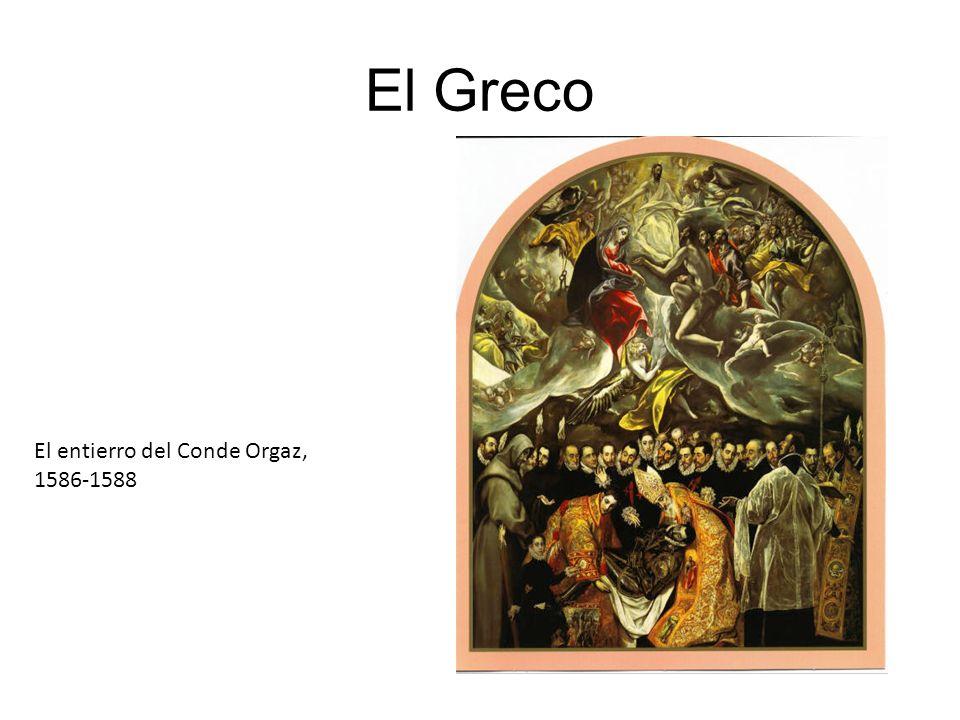 El Greco El entierro del Conde Orgaz, 1586-1588