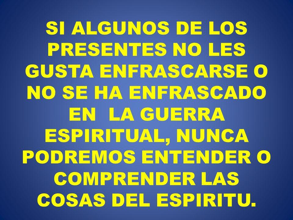 … sino preséntate a ti mismo ante Dios como VIVO entre los MUERTOS y tus MIEMBROS ante Dios como INSTRUMENTOS DE JUSTICIA.