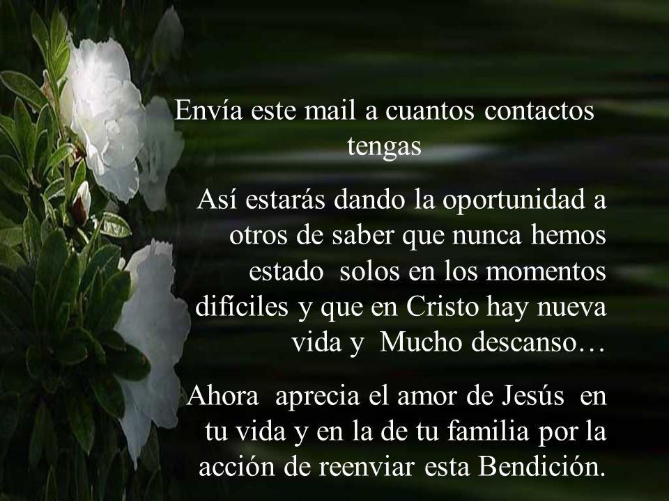 Jesús te ama…. A partir de hoy eres nueva criatura, y el hombre viejo con todas sus miserias quedó atrás...ninguno de los pecados pasados te serán rec