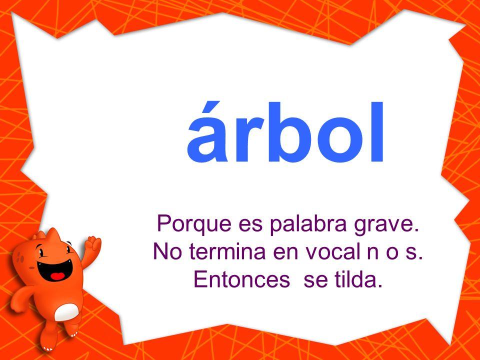 arbol Haz clic en la palabra que está escrita correctamente. árbol