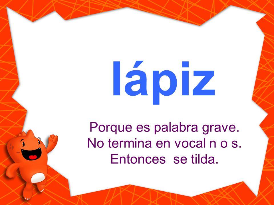 lapiz Haz clic en la palabra que está escrita correctamente. lápiz