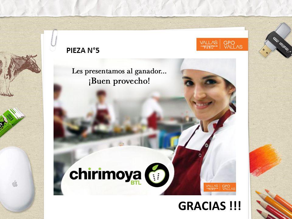 PIEZA N°5 GRACIAS !!!