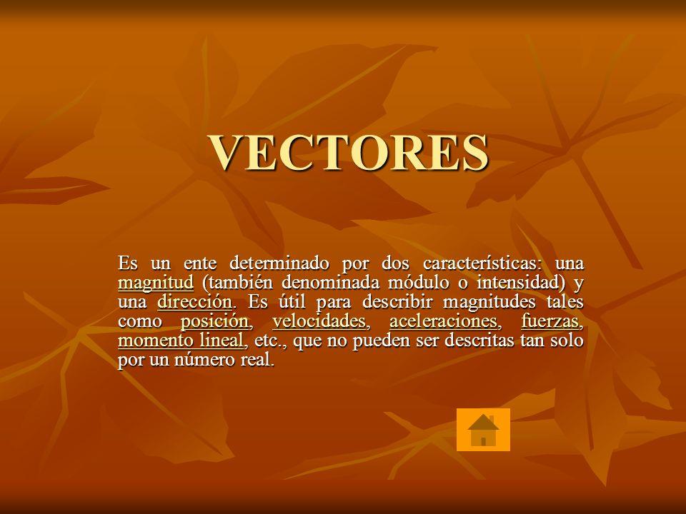 Física I Vectores: Vectores: Vectores Definición.Elementos.