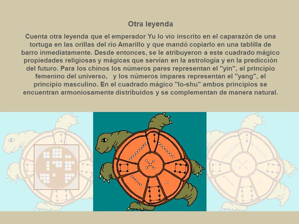 Así, como recoge Cornelius Agrippa en De oculta philosophia libri tres (1533), el cuadrado de orden 3 (15) estaba consagrado a Saturno, el de 4 (34) a Júpiter, el de 5 (65) a Marte, el del 6 (111) al Sol, el del 7 (175) a Venus, el del 8 (260) a Mercurio y el de 9 (369) a la Luna; idéntica atribución puede encontrarse en la astrología hindú.