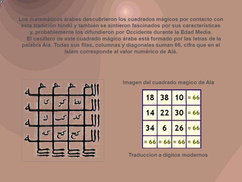 El Cuadrado Mágico Divino Este cuadrado mágico de orden 10 (*), está formado por los 100 primeros números pares.
