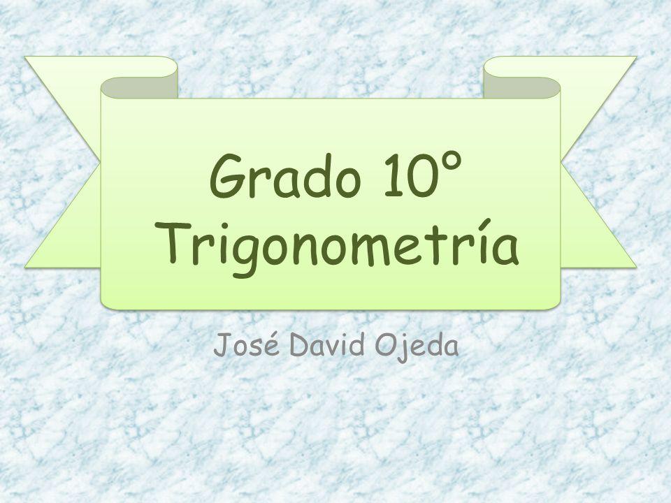 Trigonometría Viene del griego TRIGÓNO que significa triangulo y METRON que significa medida.