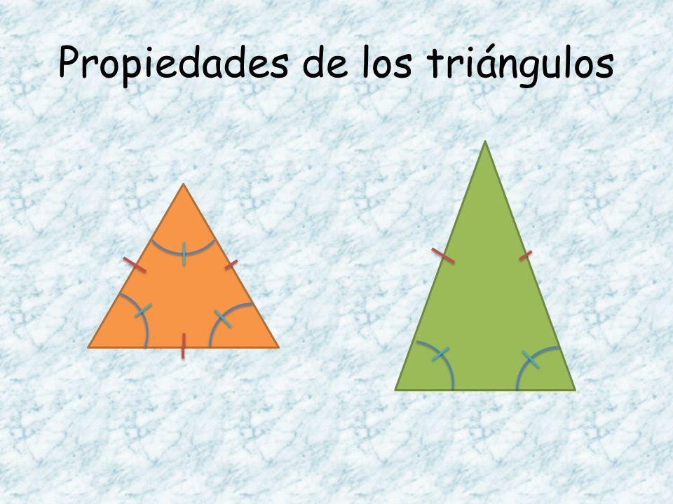 Propiedades de los triángulos
