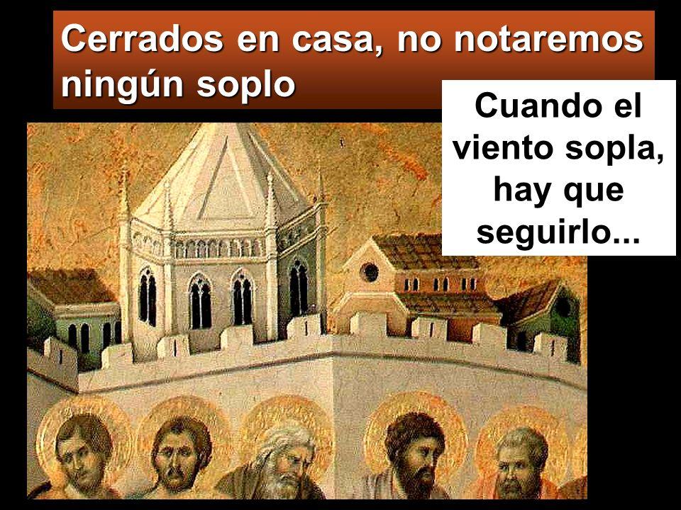 La LLAMA del Espíritu enciende lo que es esencial El FUEGO del Espíritu quema lo que es inútil Pentecostés