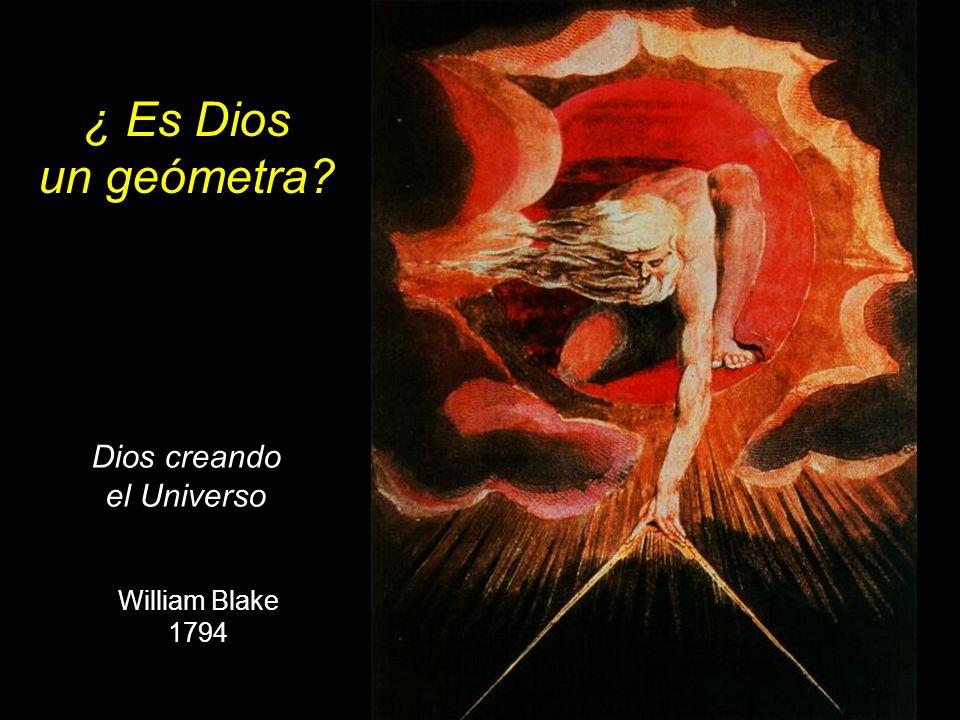 Dios creando el Universo William Blake 1794 ¿ Es Dios un geómetra?