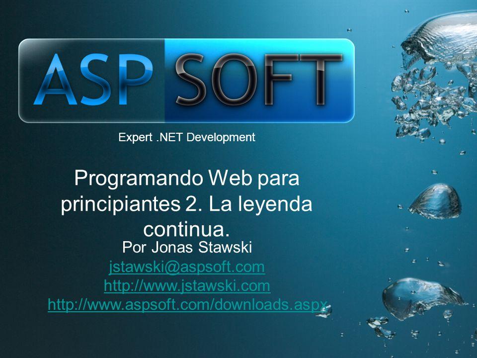 Expert.NET Development Programando Web para principiantes 2.