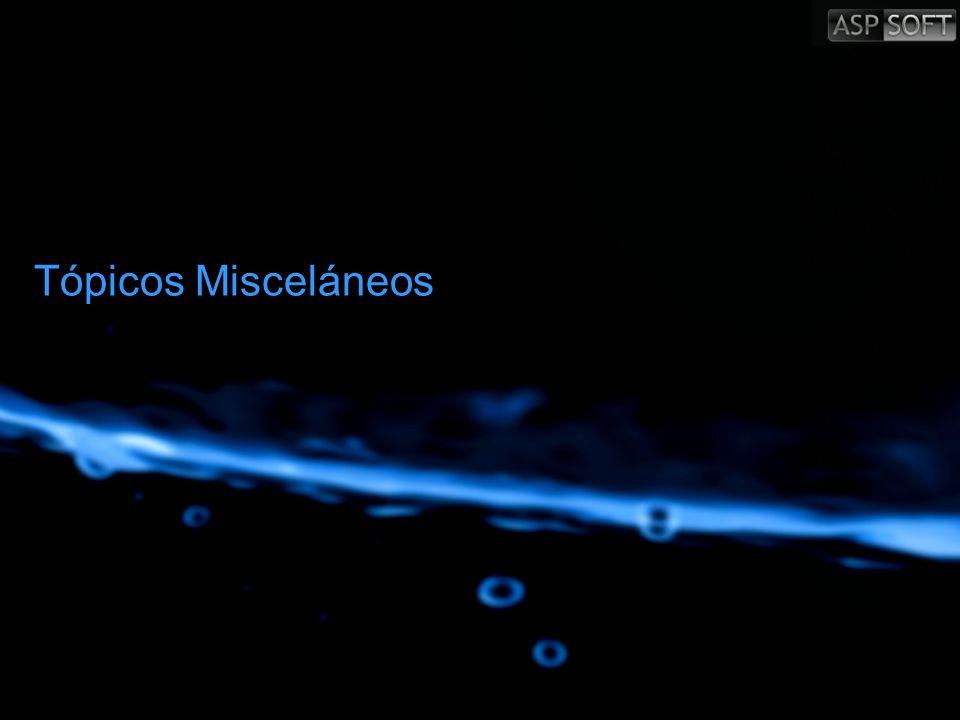 Tópicos Misceláneos