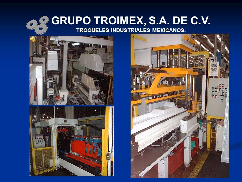 GRUPO TROIMEX, S.A. DE C.V. TROQUELES INDUSTRIALES MEXICANOS.