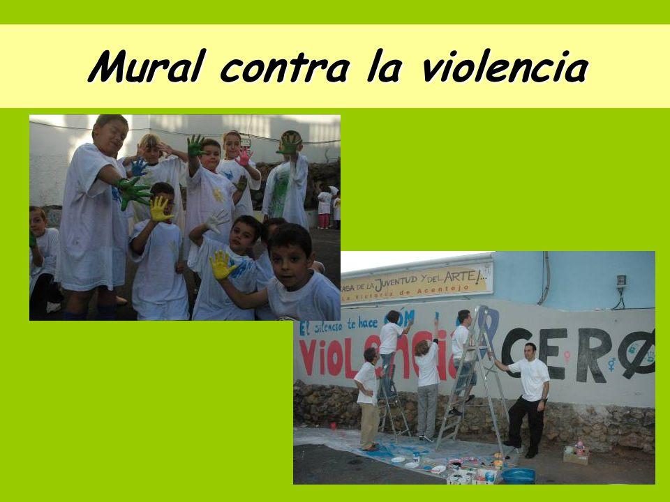 Mural contra la violencia