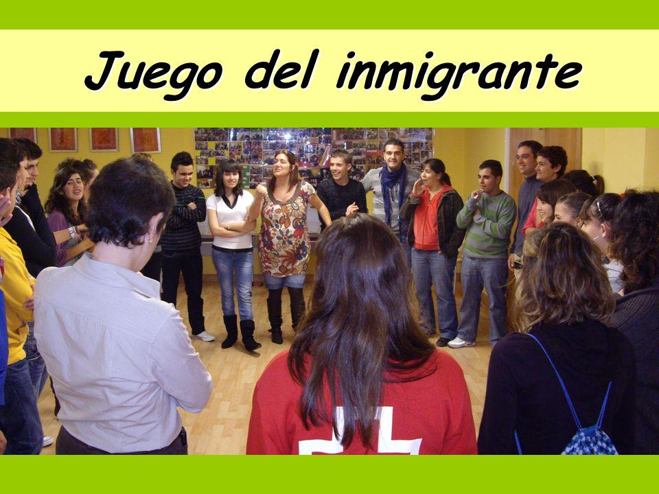 Juego del inmigrante