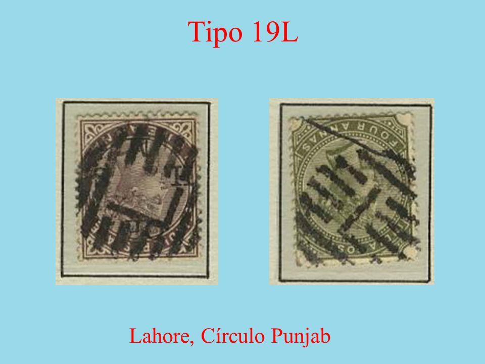 Tipo 19L Lahore, Círculo Punjab
