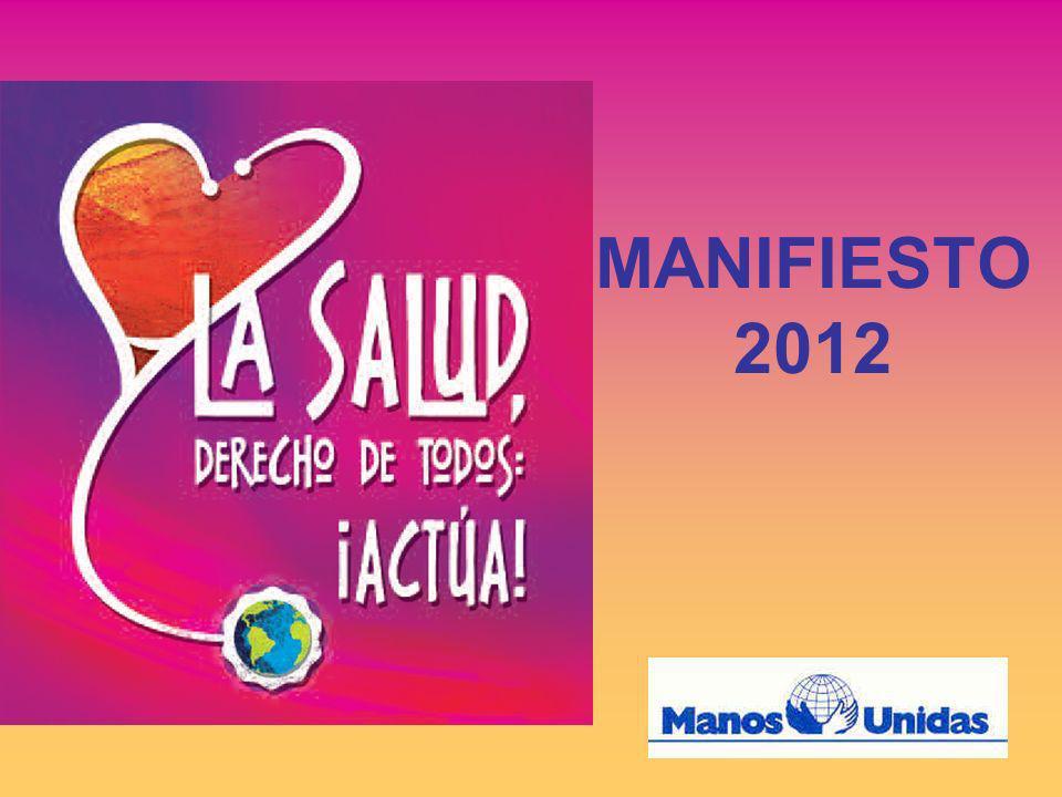En conformidad con el 6º OBJETIVO del MILENIO: Combatir el VIH/Sida, la malaria y otras enfermedades MANOS UNIDAS nos recuerda que