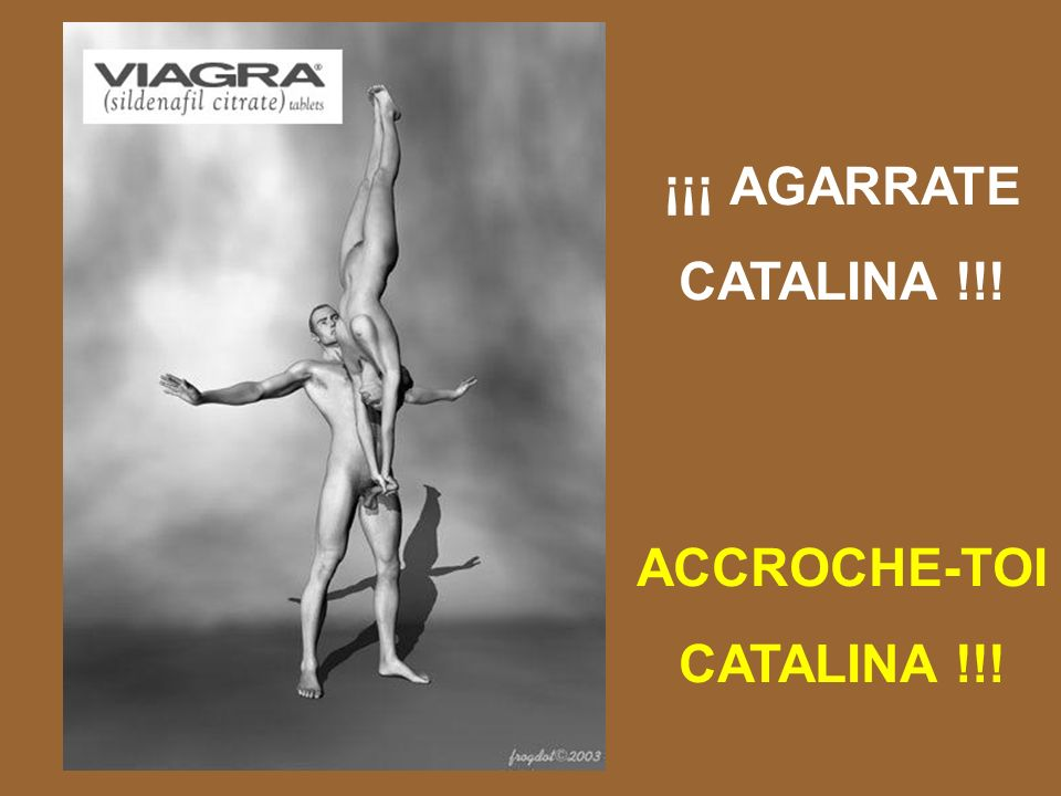 ¡¡¡ AGARRATE CATALINA !!! ACCROCHE-TOI CATALINA !!!