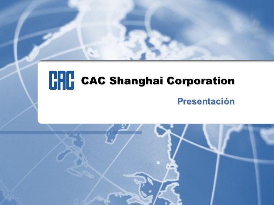 CAC Shanghai Corporation Presentación
