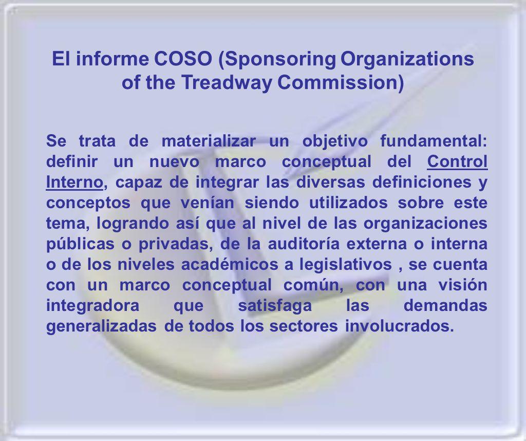 La Res 297\03 plantea los conceptos de Control Interno, su correspondencia con las condiciones particulares actuales de nuestra economía, el contenido de sus componentes y sus normas de aplicación.