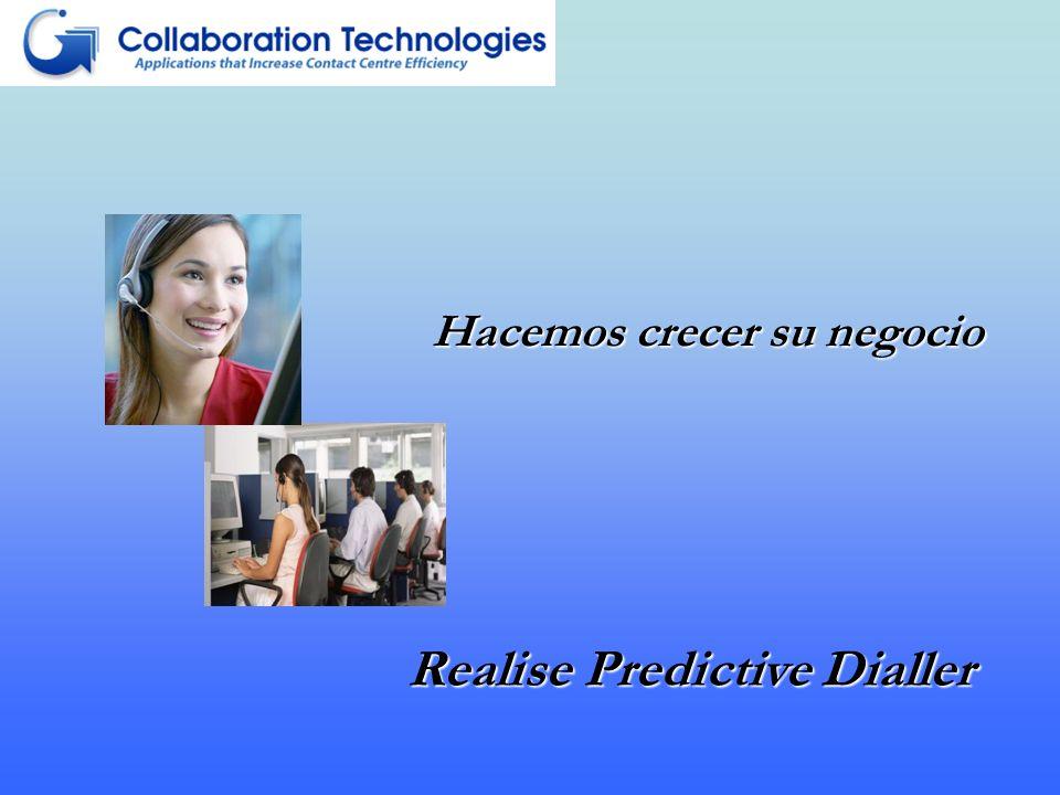 Hacemos crecer su negocio Realise Predictive Dialler